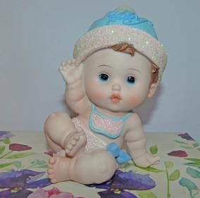 Souvenir Para Bautismo De Varon.Bebote Bebe Grande Souvenir Baby Shower Bautismo Varon 17cm