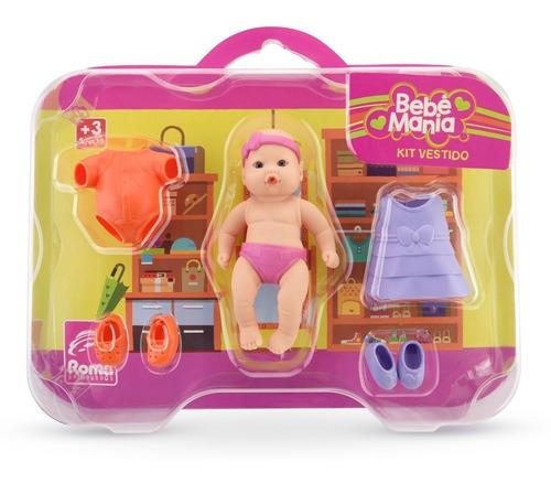 bebote bebe muñeca bebe mania  kit vestido  roma babies 14 c