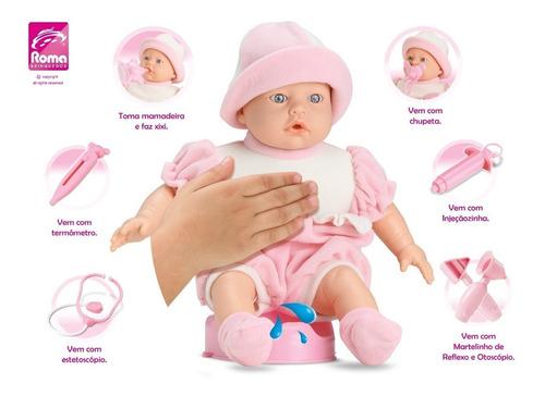 bebote muñeca accesorios doctor hace pis salen pecas al sol