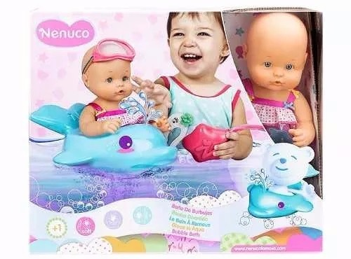 2b8c05ee8 Bebote Nenuco Baño De Burbujas Jugueteria De Colores - $ 1.990,00 en ...