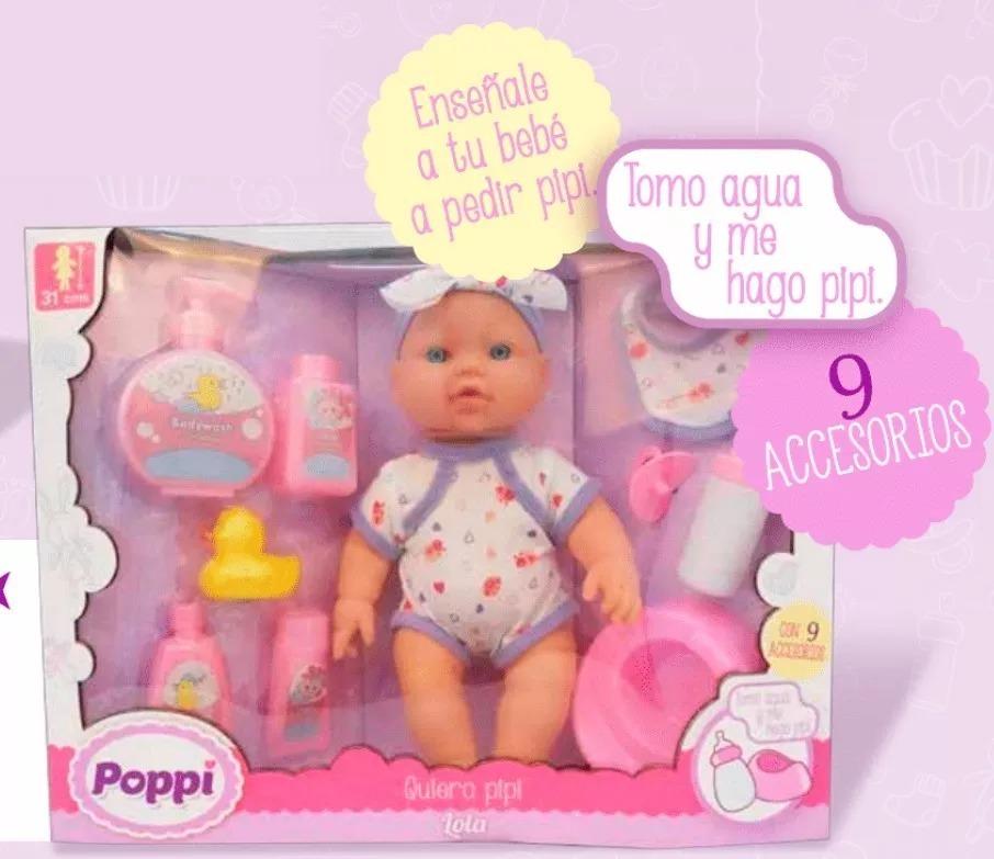 0ab0acaed bebote poppi quiero pipi con accesorios bebe muñeca mundotoy. Cargando zoom.