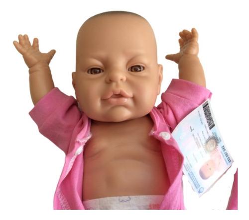 bebote real casita muñeca bebe reborn con pañal y mantita
