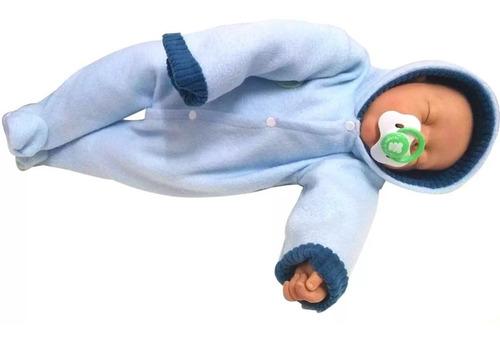 bebote reborn muñeco bebe real con chupete ropita v colores