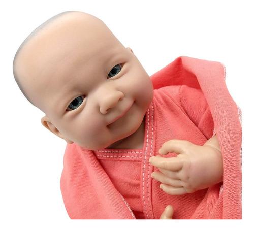 bebote reborn sonrisitas recien nacido con body y mantita