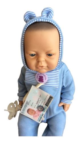 bebotes reales bebe reborn gorro babero pañal casita muñecas