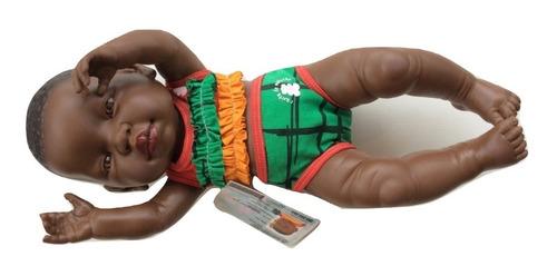 bebotes reales bebe reborn negro chocolate casita de muñecas