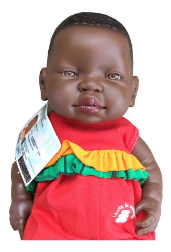bebotes reales bebe reborn  negro rumbita casita de muñecas