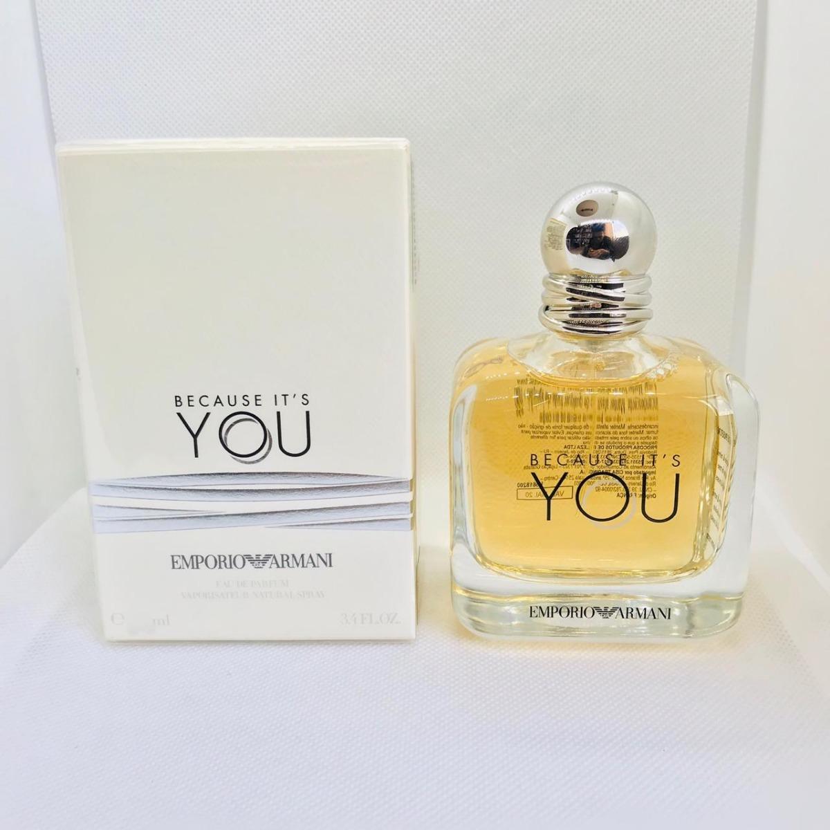 7649aa00f7 because it's you emporio armani femino eau de parfum 30ml. Carregando zoom.