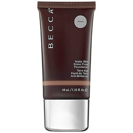 becca ever-matte shine proof foundation - sienna