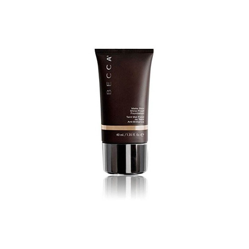 becca matte skin shine proof foundation, oliva, 1,35 onzas