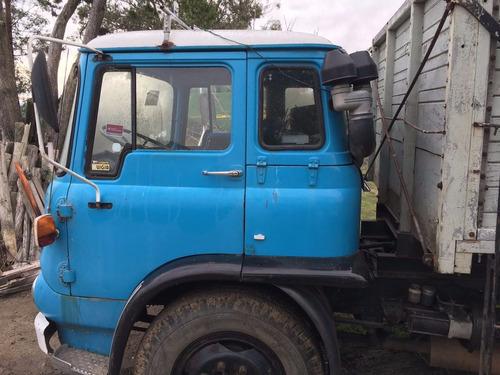 bedford camión con volcadora año 1976