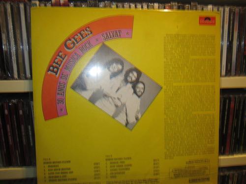 bee gees - 30 años de musica rock - salvalt lp impecable