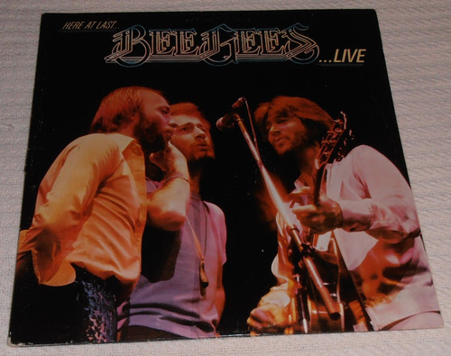 bee gees - here at last - live (2 l ps 1ra. ed. u s a 1977)