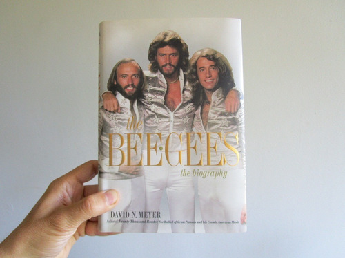 bee gees (libro) david meyer 2013 en inglés andy gibb bio