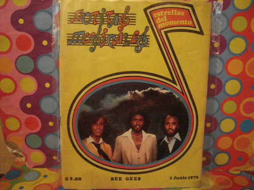 bee gees notitas musicales edic.1 junio 1979