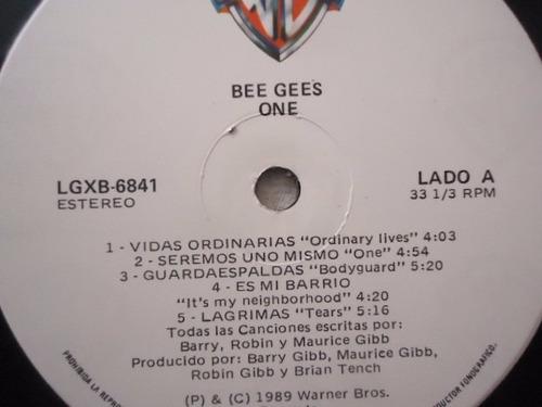 bee gees / one vinyl lp acetato