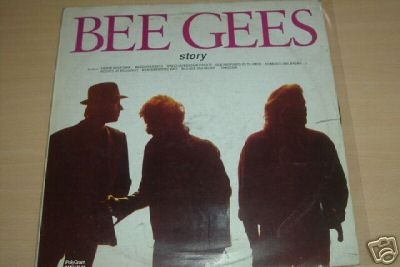 bee gees story vinilo argentino promo