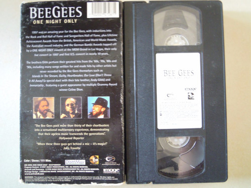 bee gees vhs one night only
