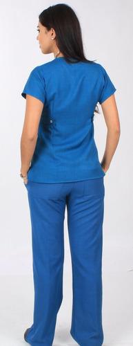 bee on fit - traje quirurgico filipina uniforme scrub pitufo
