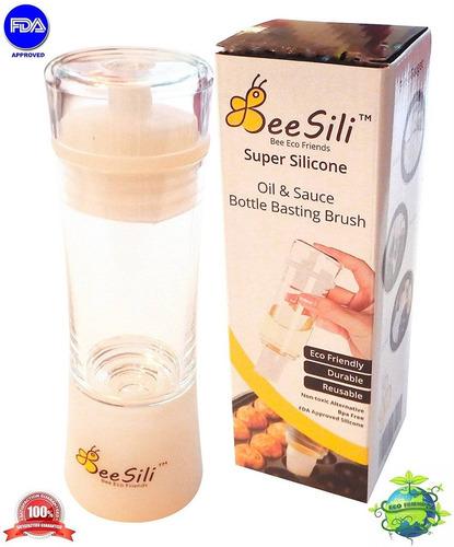 bee sili silicona aceite de oliva, vinagre, e + envio gratis