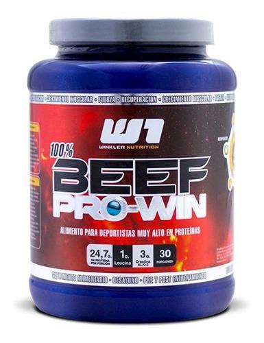 beef pro win - proteína de carne 1 kg. 30 serv. os