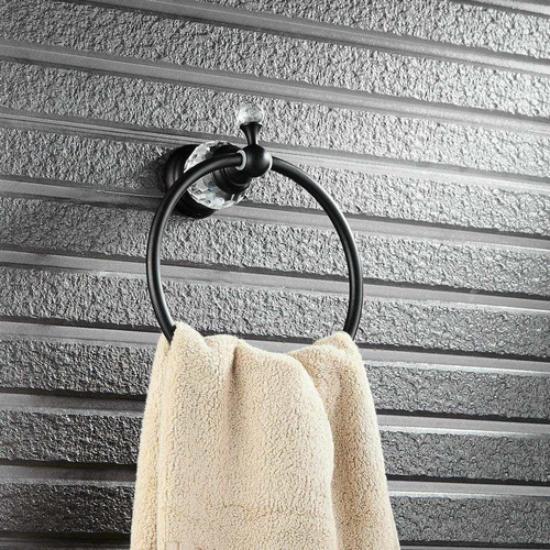 beelee pared monte baño negro aceite frotó el bronce lató