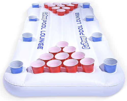 beer pong flotante beer pong inflable para agua alberca