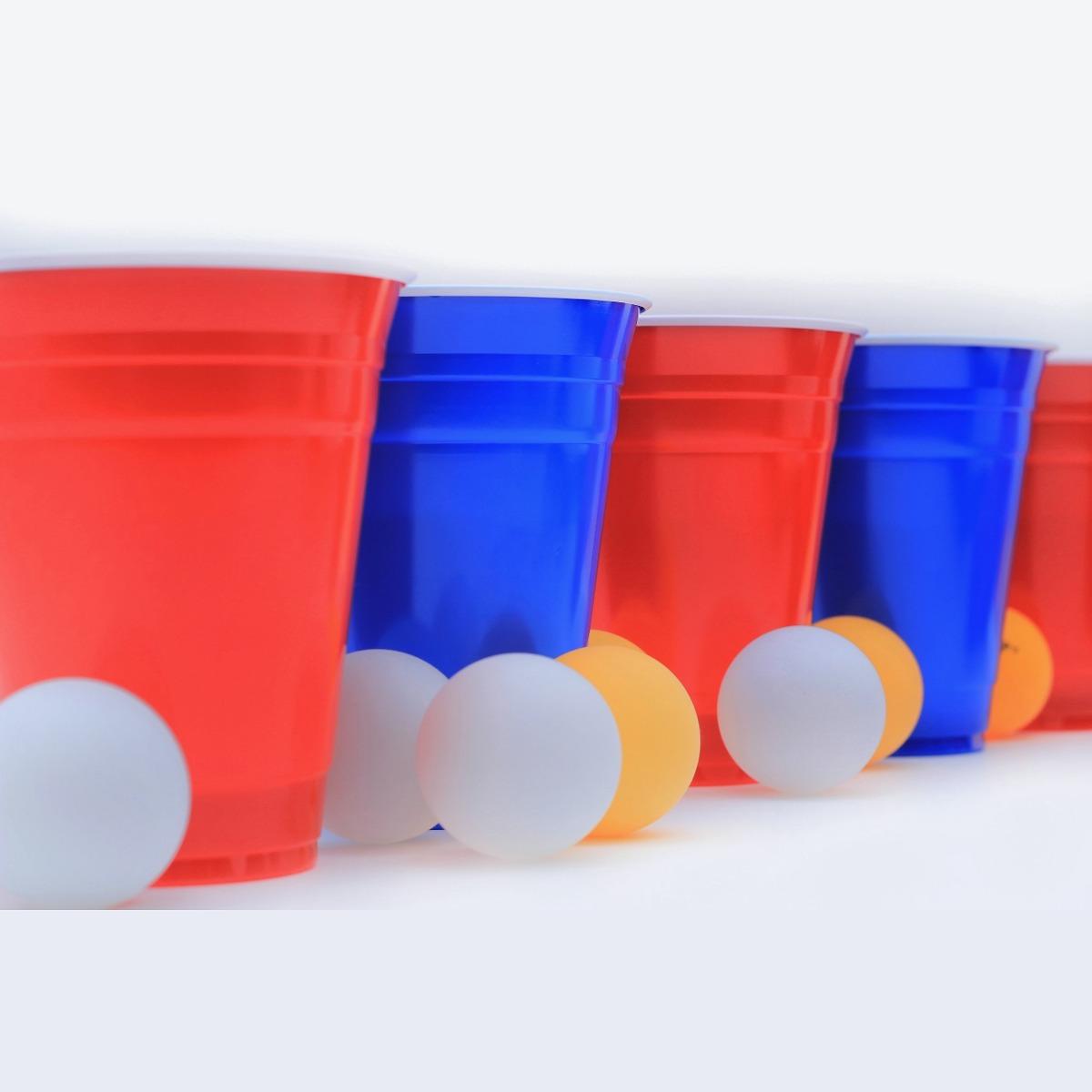 Beer Pong Kit Vasos De Colores Con Pelotas Para Fiesta S 20 00