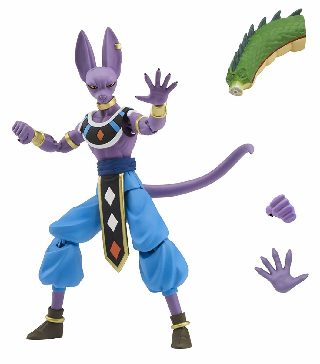 Beerus Bills Dragon Stars Series Dragon Ball Super Bandai
