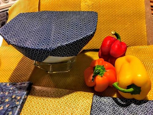 bee's wax food wraps, envoltorio sustituto al plastico