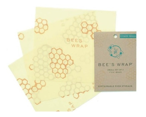bee's wrap sustainable reutilizable food storage set de 9 e