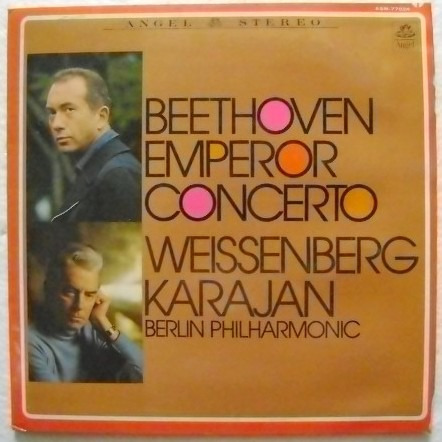 beethoven / emperor concerto  1 disco  lp vinil