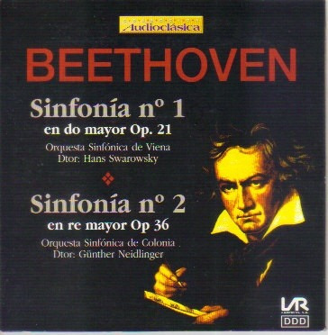 beethoven las 9 sinfonías precio por cd