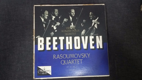 beethoven rasoumovsky quartet lp vinilo clasica