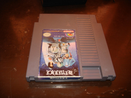 beetle juice nes