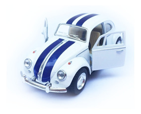 Vw Azul 1 32 Metal C Beetle 1967 Herbie Kinsmart Blanco hrtsQdC