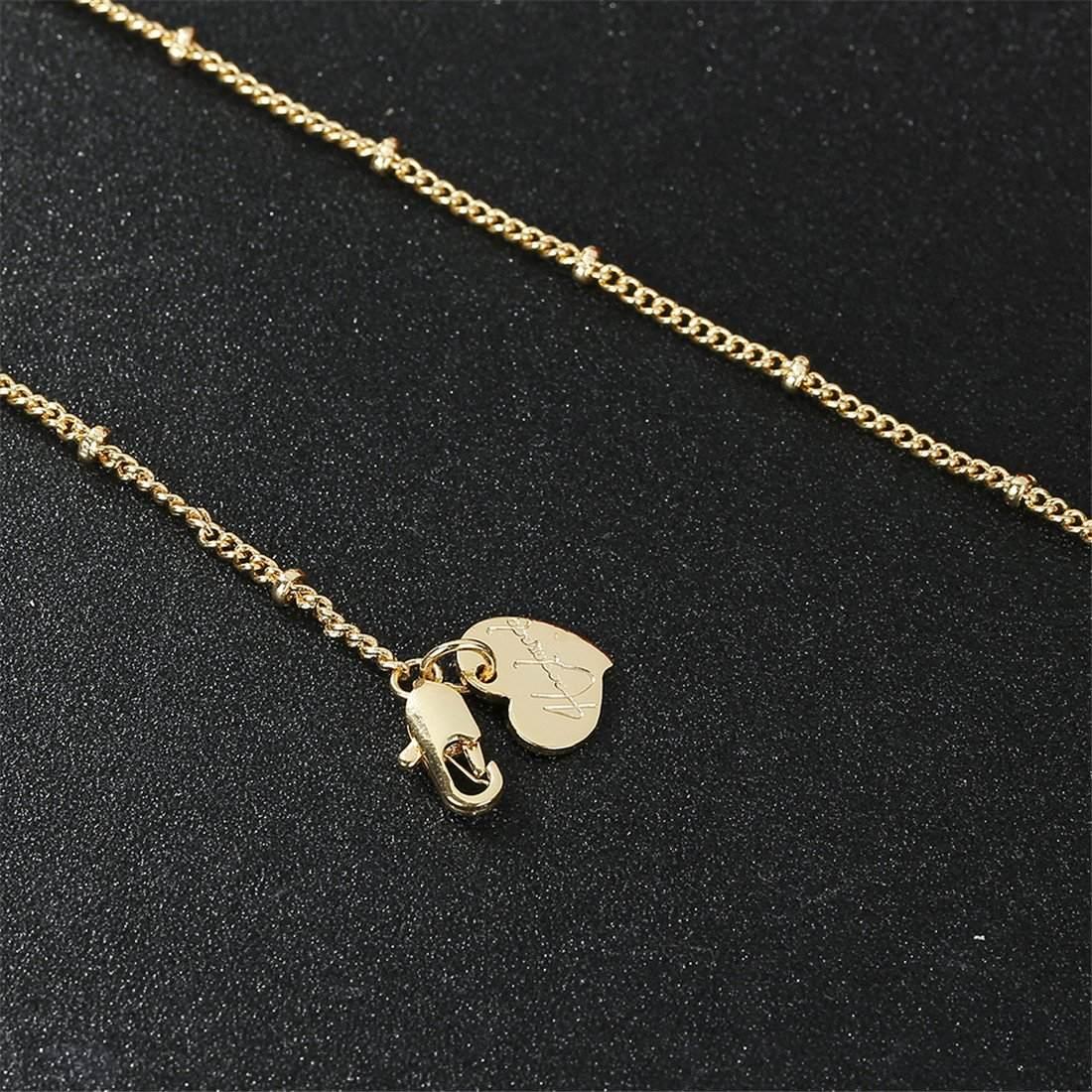 60fbef83e7e4 Befettly Collar De Gargantilla De Oro Para Mujer Hecho A. -   33.241 ...