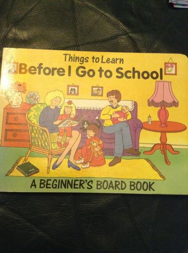 before i go to school - libro de inglés para niños