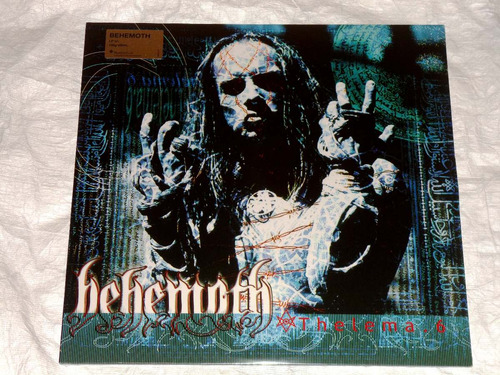behemoth thelema 6 gatefold lp vinyl death black metal