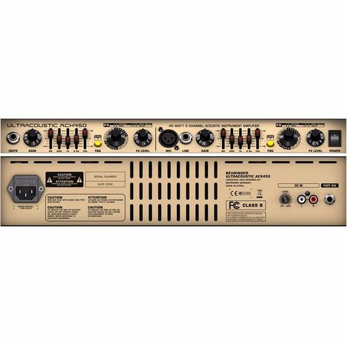behringer acx450 amplificador para bajo eléctrico 15 watts