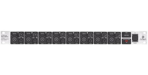 behringer ada8000 pré e conversor 8 canais show!