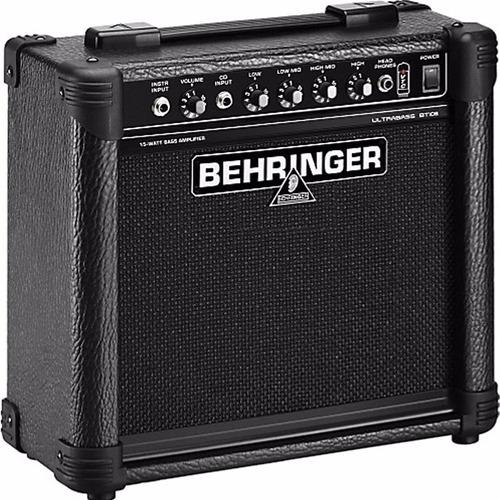 behringer amplificador bajo