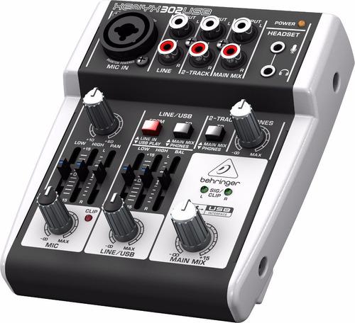 behringer áudio mesa som