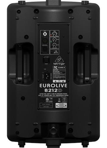 behringer b212d eurolive activo 12 550w