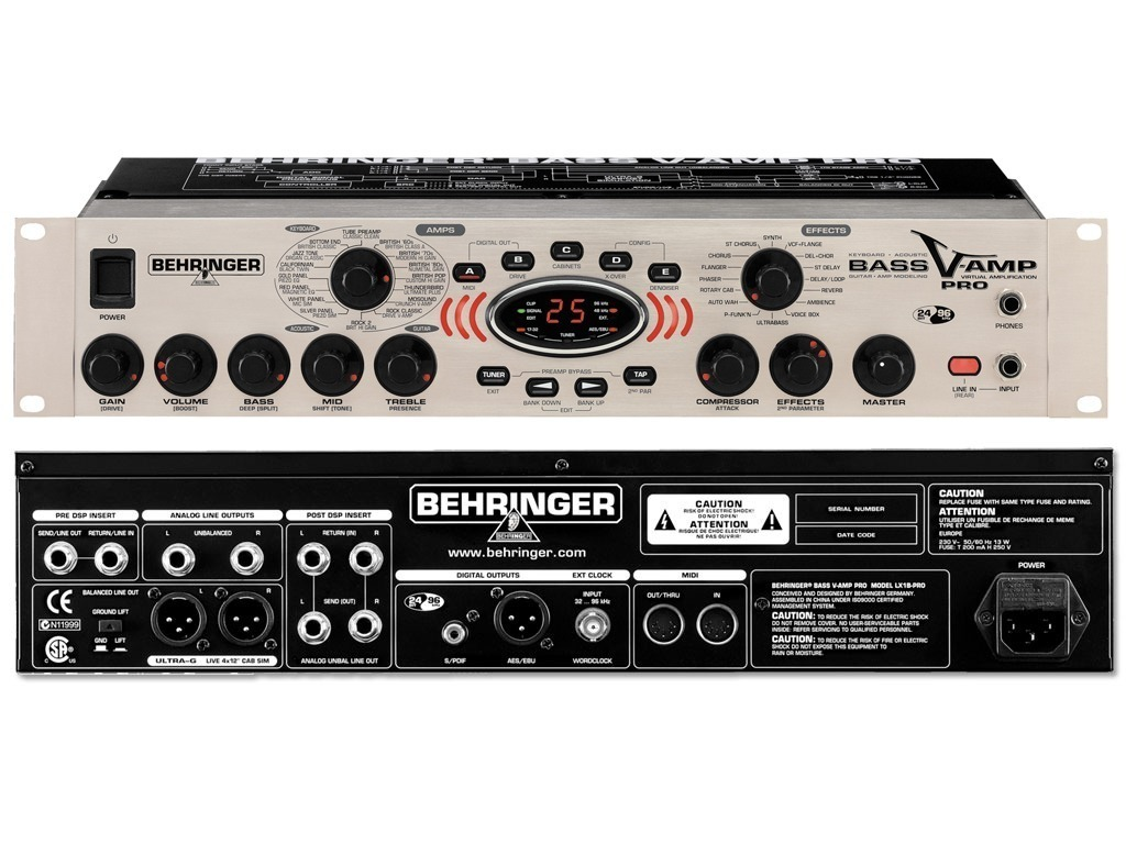 behringer bass v amp pro r 750 00 em mercado livre. Black Bedroom Furniture Sets. Home Design Ideas