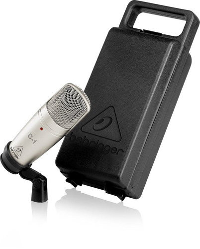behringer c-1 micrófono para estudio no shure pga 27