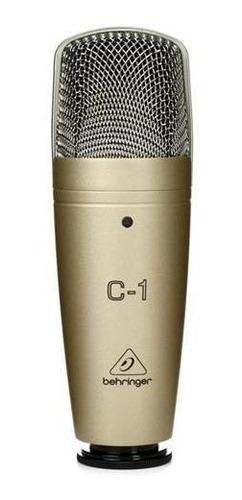 behringer c1 microfono condenser cardioide para grabacion