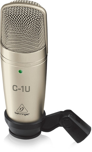 behringer con microfono condensador