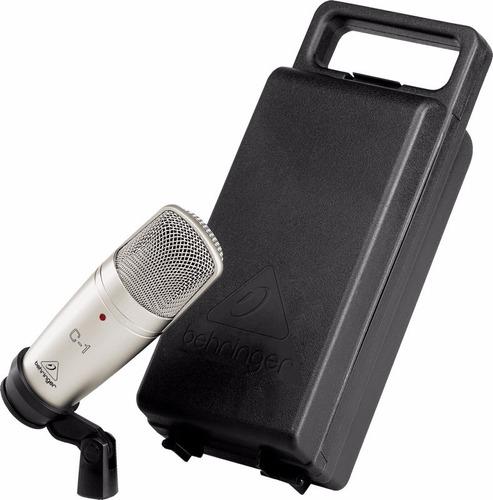 behringer condensador microfone