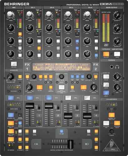 behringer ddm4000 digital pro mixer dj midi ddm 4000 sampler